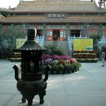 The Po Lin Monastery is another famous tourist attraction near the hostel.