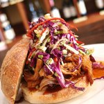 Pulled Cha Sui Pork with Asian Slaw