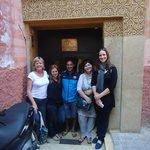 The lovely staff at Riad Kheirredine
