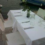 Il tavolo che ci hanno riservato