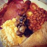 Wow breakfast!!