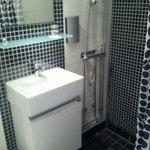 Renovated small bathroom