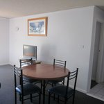 Dining area in a 2 Bed self contained apartment