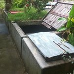 the swimming pool filtration system next to our room. very noisy.