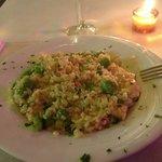 risotto gamberi e asparagi