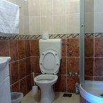 Clean and convenient bathroom
