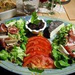 La salade des copains