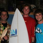 Richie one of our Instructors who won the East Coast Surf Intervarsities 2012 Mens Open Final