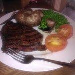 Rump Steak Meal