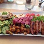 "La "" salade du Quercy"""