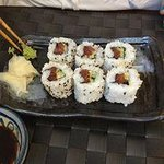 The sushi was delicious!!