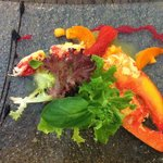 Sublime entrée de homard