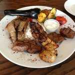 Turquoise mixed grill!