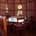 interno sala da pranzo hotel Frances