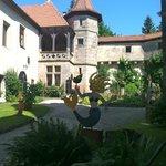 Schloss Hohenstein courtyard