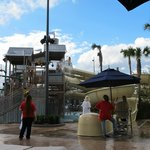 Part of the waterpark area