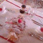 tavolo per anniversario