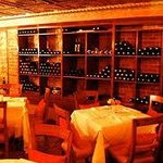 Wine cellar private dining room