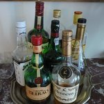 Help yourself to a complimentary, welcome drink