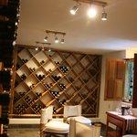 2,000 bottle wine cellar, where orientation takes place