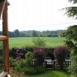 View from our window at Larkrise
