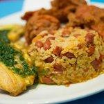Crispy Chicken Chicharrones - Mamposteado & Hot Plantain