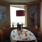 A view of the dining room at La Marine