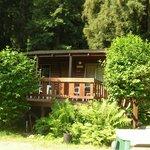 Outside of Cabin 7