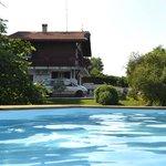 Maoutens depuis la piscine; nouveauté pour saison 2013
