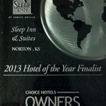 2013 Hotel of the Year Finalist