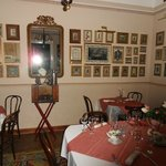 one of the rooms in the restaurant