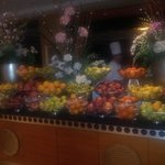 Bera free fruit selection at buffet