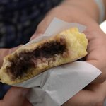 Red bean bun/pancake