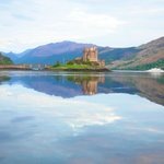 Eilean Donan Castle was one of the places we visited while staying here.