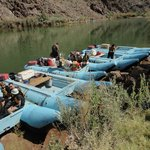 Hualapai motorized river rafts