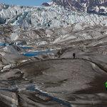 Glacier hiking safari