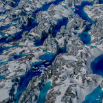 The wild blue of glacier lakes