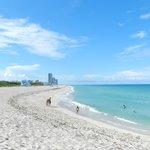 Quiet beach,