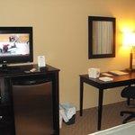 Desk,TV & Fridge