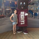 A sweet meet and greet at Hershey World!