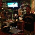 Matt the friendly owner/bartender