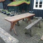 Small table for eating outside