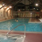 We all loved the indoor pool - nice and warm, lockers nearby