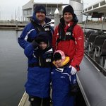 Mike with our Family - Eco Boat Tours