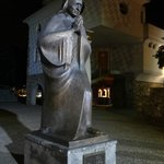 The statue of Mother Teresa