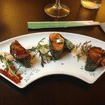 salmon & foie-gras
