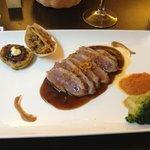 duck & okinomiyaki