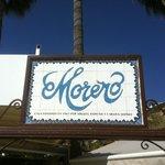 Moreno - signage