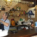 The owner models himself on Don Quijote, the famous Cervantes character