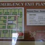 Floor Plan for main building